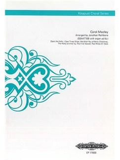 Carol Medley (Kikapust Choral Series) Books | SSAATTBB, Organ Accompaniment, Choral