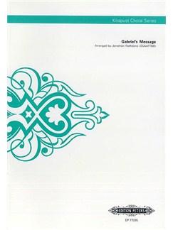 Gabriel's Message (Kikapust Choral Series) Books | SSAATTBB, Choral