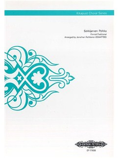 Sakkijarven Polkka (Kikapust Choral Series) Books | SSAATTBB, Choral