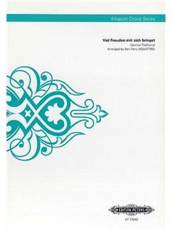 Viel Freuden mit sich bringet (Kikapust Choral Series) Books | SSAATTBB, Choral