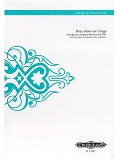 Three American Songs (Kikapust Choral Series) Books | SATB