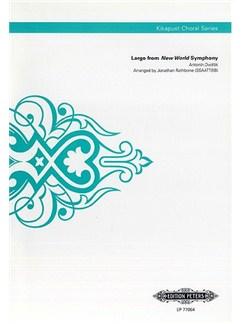 Anton Dvorák:  Largo (New World Symphony) (Kikapust Choral Series) Books | SSAATTBB, Choral