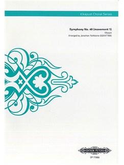 W.A. Mozart:  Symphony No.40 (Movement I) (Kikapust Choral Series) Books | SSAATTBB, Choral