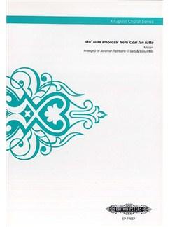 W.A. Mozart:  'Un' aura amorosa' (Cosi Fan Tutti) (Kikapust Choral Series) Books | Tenor, SSAATBB, Choral