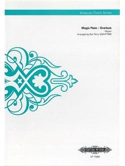 W.A Mozart: Magic Flute – Overture (Kikapust Choral Series) Books | SSAATTBB, Choral