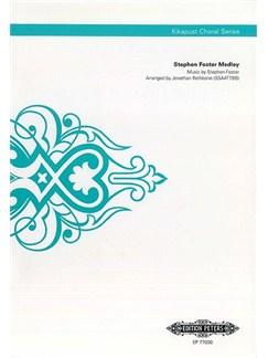 Stephen Foster Medley (Kikapust Choral Series) Books | SSAATTBB, Choral