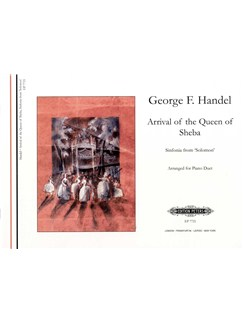 George Frideric Handel: Arrival Of The Queen Of Sheba (Piano Duet) Books | Piano Duet