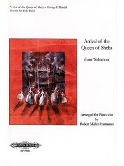 Handel: Arrival Of The Queen Of Sheba For Piano Bog | Klaver solo
