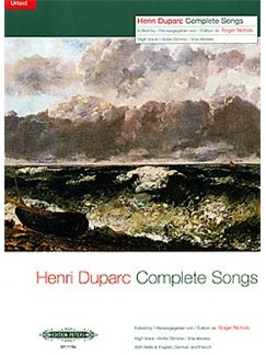 Henri Duparc: Complete Songs - High Voice (Edition Peters Urtext) Books | High Voice, Piano Accompaniment
