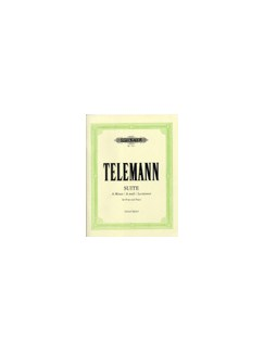 Georg Philipp Telemann: Suite In A Minor For Flute and Piano Books | Flute, Piano Accompaniment