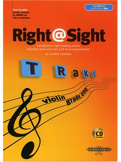 Right@Sight Violin Grade Two Books and CDs | Violin (Duet)