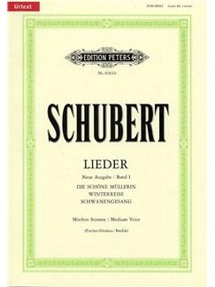Franz Schubert: Lieder Volume 1 - Medium Voice (Edition Peters Urtext) Books | Medium Voice, Piano Accompaniment