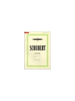 Franz Schubert: Songs Volume 3 - 46 Songs Books | High Voice, Piano Accompaniment