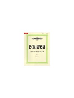 Pyotr Ilyich Tchaikovsky: The Seasons Op.37 (Piano) Books | Piano