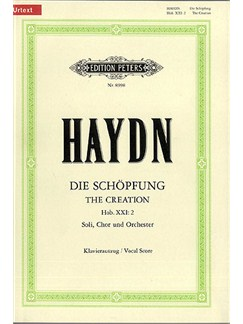 Joseph Haydn: The Creation (Vocal Score) Books | SATB, Soprano, Alto, Tenor, Bass Voice, Piano Accompaniment