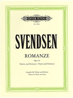 Johan Svendsen: Romance Op.26 (Violin/Piano) Books | Violin, Piano Accompaniment