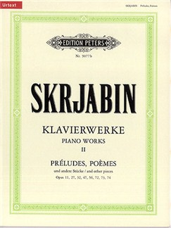 Alexander Skrjabin: Piano Works Volume 2 Books | Piano Accompaniment