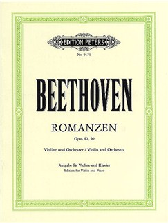 L.V. Beethoven: Romances Op.40/Op.50 (Violin/Piano) Books | Violin, Piano Accompaniment