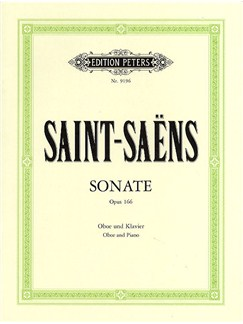 Camille Saint-Saens: Sonata For Oboe And Piano Op.166 Books | Oboe, Piano Accompaniment