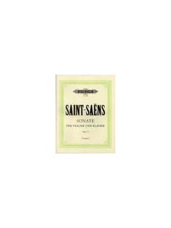 Camille Saint-Saens: Clarinet Sonata In E-Flat Op.167 Books | Clarinet, Piano Accompaniment