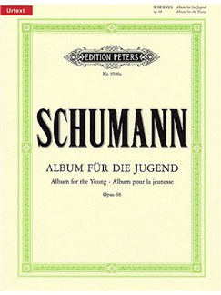 Robert Schumann: Album For The Young Op.68 (Peters Edition) Books | Piano