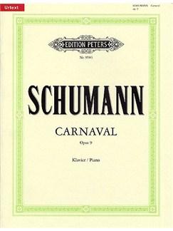 Robert Schumann: Carnaval Op.9 Books | Piano