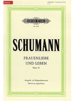Robert Schumann: Frauenliebe Und Leben Op. 42 Books   Voice, Piano Accompaniment