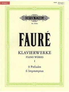 Gabriel Faure: Piano Works - Volume 1 Books | Piano