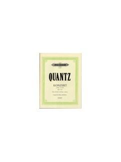 Johann Quantz: Concerto For Flute In G Minor QV5:192 (Flute/Piano) Books | Flute, Piano Accompaniment