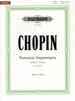 Frédéric Chopin: Fantaisie-Impromptu In C Sharp Minor (Urtext) Books | Piano