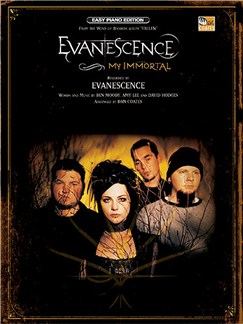 Evanescence: My Immortal (Easy Piano) Books | Piano and Voice, with Guitar chord symbols