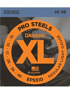 D'Addario: EPS510 ProSteels, Regular Light, 10-46  | Electric Guitar