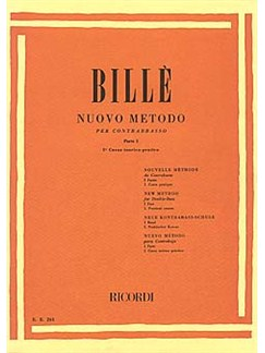 Isaia Billie: Nuovo Metodo For Contrasbass - Part 1 Books | Double Bass