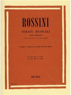 Gioacchino Rossini: Serate Musicali - Volume 1 Books | Voice, Piano Accompaniment
