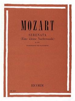 W.A. Mozart: Serenata (Eine Kleine Nachtmusik K.525) Books | Piano