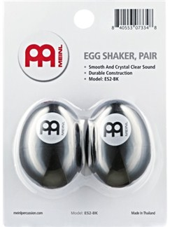 Meinl: Plastic Egg Shaker (Black)  | Percussion