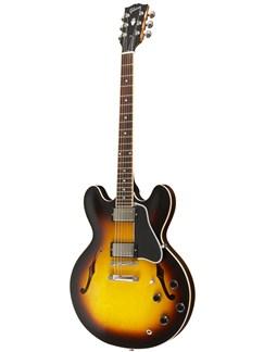 Gibson: ES-335 Dot Plain Gloss (Vintage Sunburst) Instruments   Semi-Acoustic Guitar