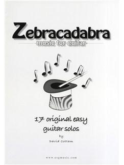 David Cottam Zebracadabra - Music For Guitar Books | Classical Guitar