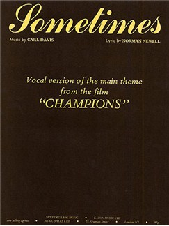 Carl Davis: Sometimes (PVG) Books | Piano, Voice and Guitar (Boxed Chord Symbols)