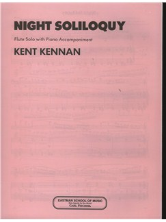 Kent Kennan: Night Soliloquy Books | Flute, Piano Accompaniment