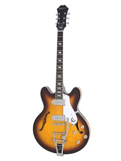 Epiphone: Casino Limited Edition (Sunburst/Bigsby) Instruments | Semi-Acoustic Guitar