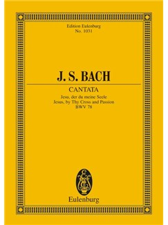 J.S. Bach: Cantata - Jesus, By Thy Cross And Passion (Miniature Score) Books | Choral