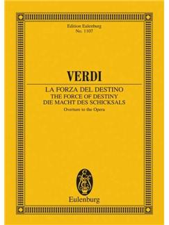 Guiseppe Verdi: Overture - The Force Of Destiny (Eulenburg Miniature Score) Books | Score