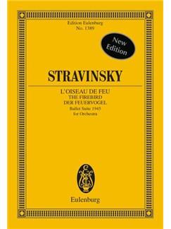 Igor Stravinsky: The Firebird (Eulenburg Miniature Score) Books | Orchestra
