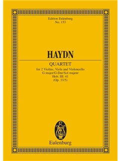 Joseph Haydn: String Quartet In G Major Op. 33 No. 5 Hob. III: 41 Books | String Quartet