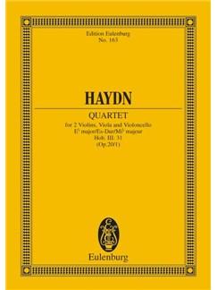 Joseph Haydn: String Quartet In E Flat Major Op. 20 No. 1 Hob. III: 31 Books | String Quartet