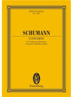 Robert Schumann: Violin Concerto In D Minor Books | Violin, Orchestra