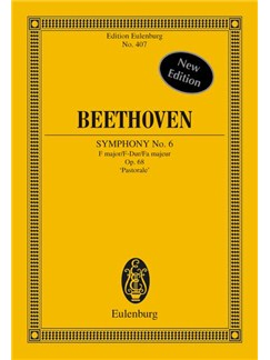 Beethoven: Symphony No.6 Op.68 'Pastorale' (Eulenburg Miniature Score) Books | Orchestra