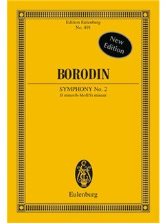 Alexander Borodin: Symphony No.2 In B Minor (Eulenburg Miniature Score) Books | Orchestra