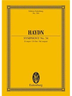 Haydn: Symphony No. 34 In D Major Hob. I: 34 Books | Orchestra